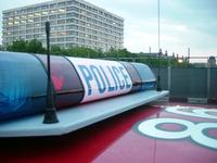 DUI police car